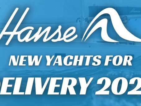 New Hanse Yachts for delivery 2022