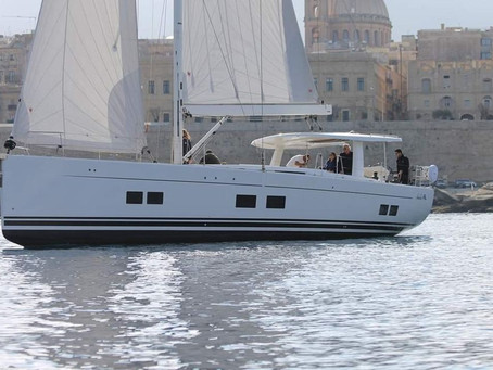 2017 Hanse 588 has new owners