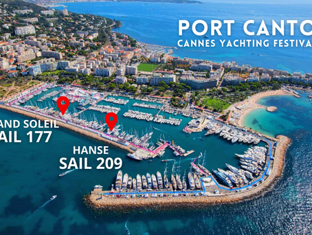 1 day left before the 2021 Cannes Yachting Festival begins!