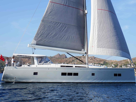 Rare Opportunity To Own A Pristine Hanse 675.