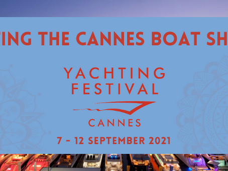 Join us at Cannes Yachting Festival in September