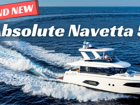 Brand New ABSOLUTE Navetta 52 for Delivery March 2022