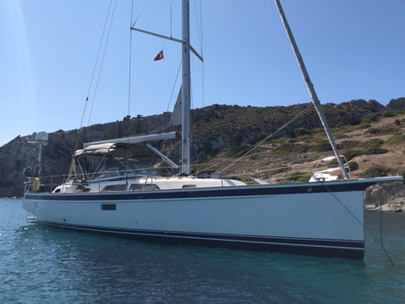 Just Listed! A rare opportunity to own a 2017 Hallberg-Rassy 44