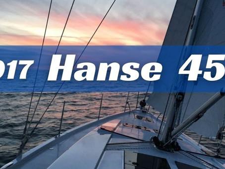 2017 Hanse 455 for sale