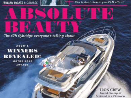 An in depth review of the new Absolute 47 Fly by Motor Boat & Yachting