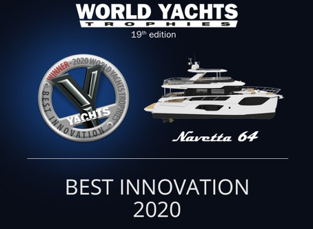 "ABSOLUTE Navetta 64 wins the prize of ""Best Innovation 2020""!"