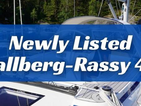 Newly listed 2018 Hallberg-Rassy 44