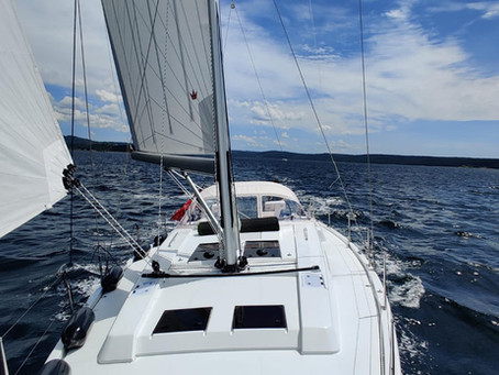 Brand New Hanse 508 handed over to her new owners