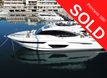 Princess 60 SOLD!!