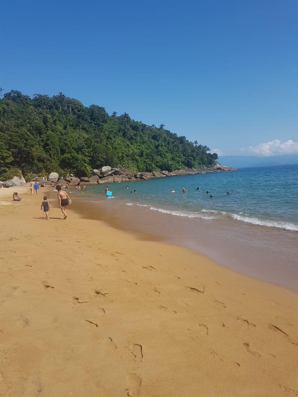 Praia Jabaquara- Ilha Bela- boa praia para se divertir com crianças