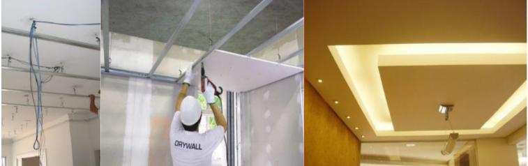 drywall gesso acartonado  placas