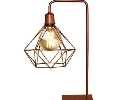 Luminária de Mesa - Veja 10  Modelos desse item funcional