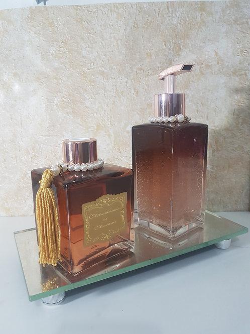 Kit difusor de varetas, sabonete liquido 250 ml