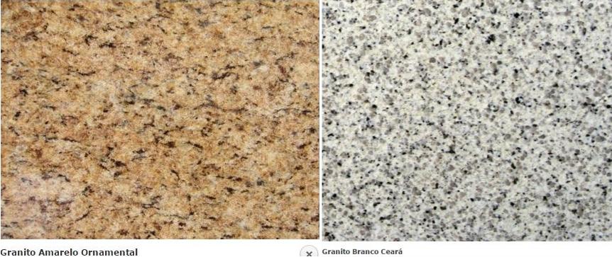 Tipos de Pedras Granito