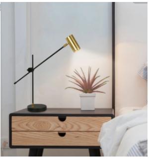 Luminária de mesa elegante