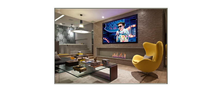 Decoração de acordo com perfil- sala de estar