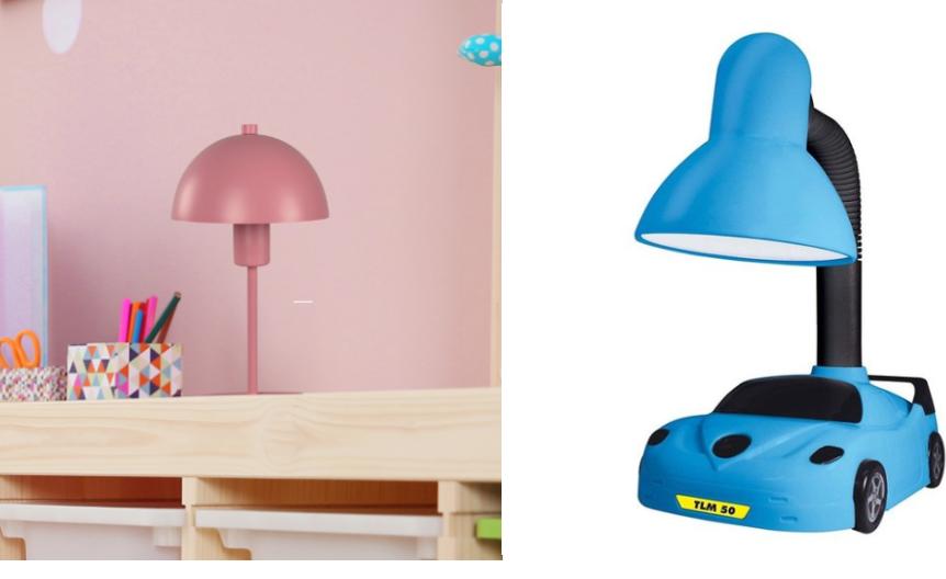Luminária de mesa infantil