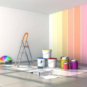 Tipos de tintas e quais ambientes são mais adequados.