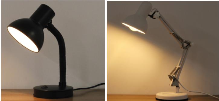 Luminária de mesa direcionável