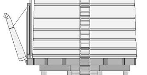 Branchline water tank - O scale