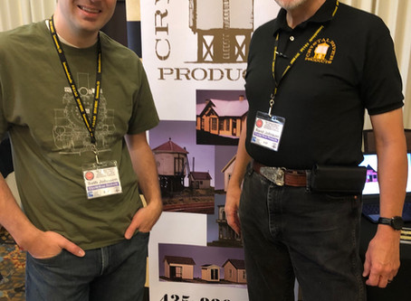 Hello from the 39th Annual National Narrow Gauge Convention! (with Product Announcements)