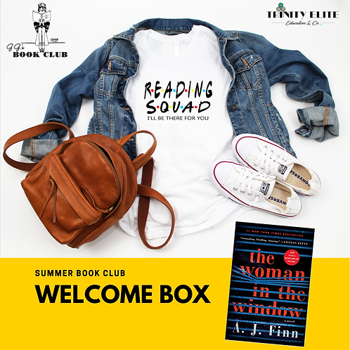 Welcome Box- The Woman in the Window with VIP Book Club Member Online Access