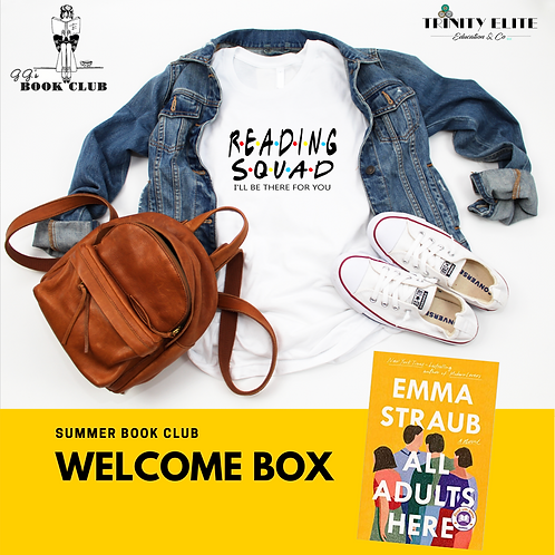 Welcome Box- All Adults Here with VIP Book Club Member Online Access (July)