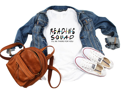Summer Book Club Reading Squad Shirt with VIP Book Club Member Online Access (Ju