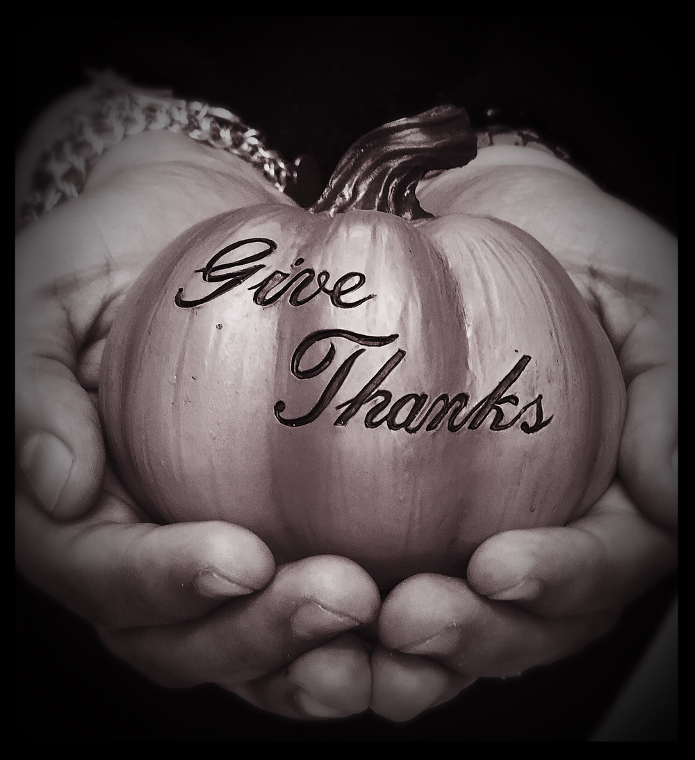 In everything, give thanks.