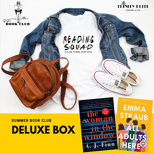 Deluxe Box with VIP Book Club Member Online Access (June & July)