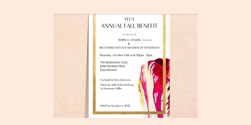 Annual Fall Benefit and Cocktail Party