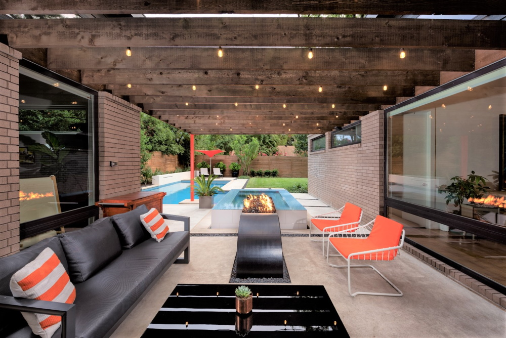 NorthWest Dallas Modern Pool + Spa