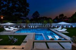 North Dallas Modern L-Shape Pool