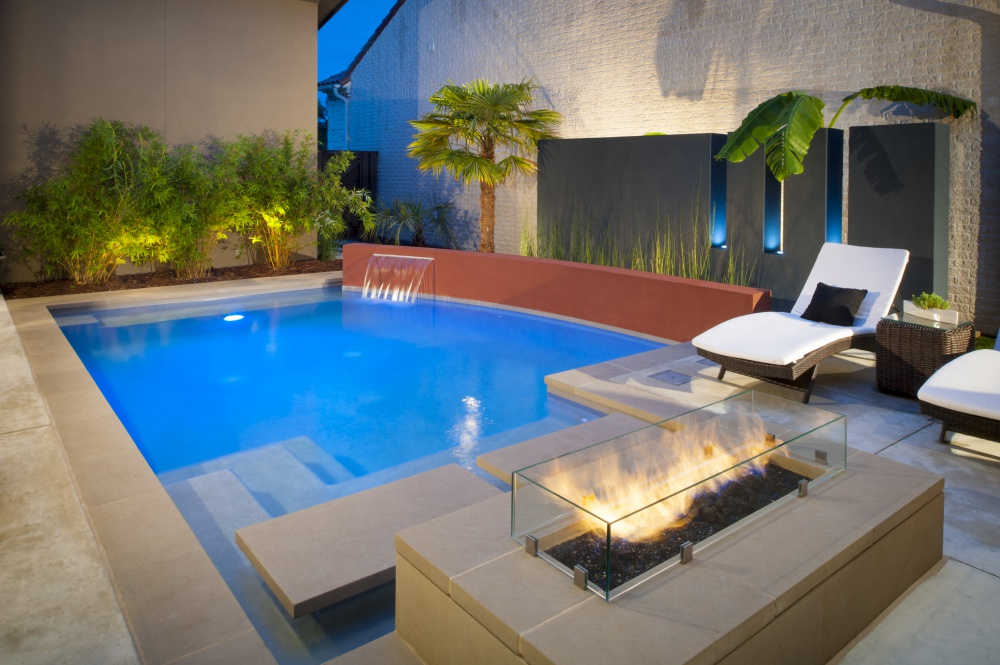 Coppell, TX Curvilinear Pool Design