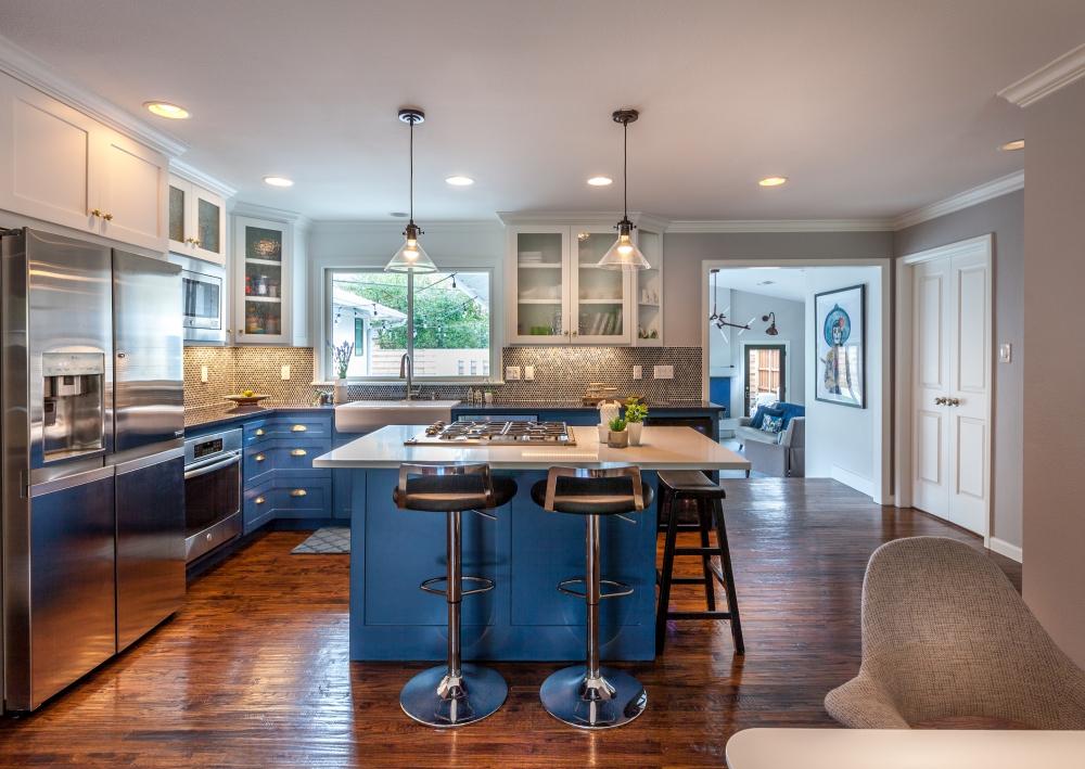 Dallas Modern Kitchen Design Remodel
