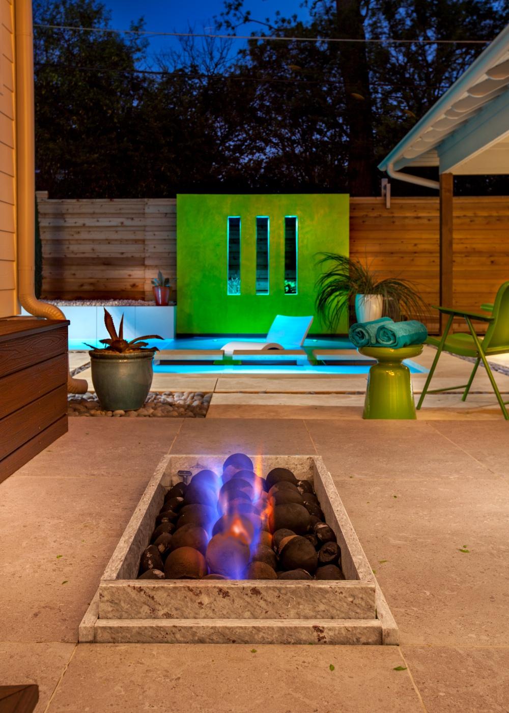 Dallas Modern Pool Spa & Addition