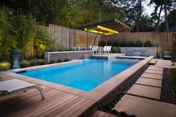 Kessler Park Modern Linear Pool