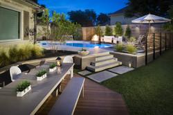Plano, TX Modern Swimming Pool Reno