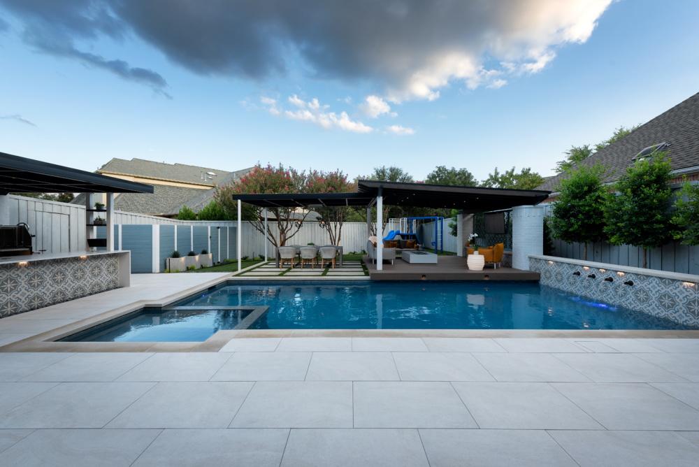 Plano Backyard + Pool Renovation
