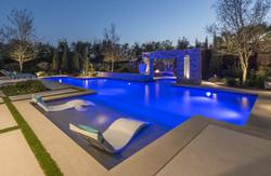 Mckinney Stonebridge Modern Lap Pool