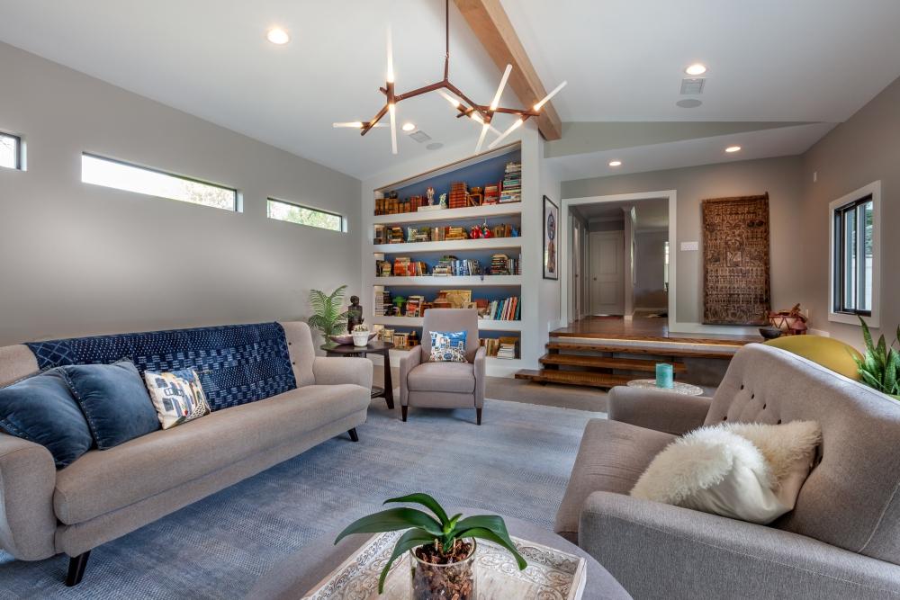 Dallas Modern Living Room Design