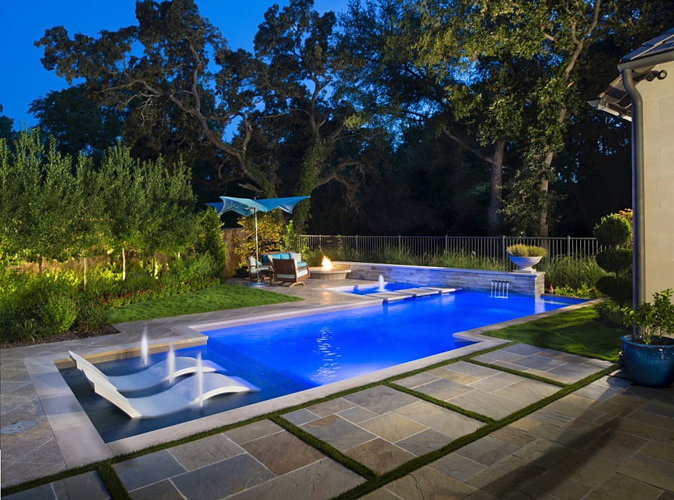 Randy angell designs dallas landscape architectural for Pool design dallas texas