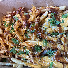 Pulled Chicken fries