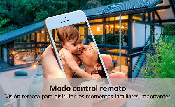 Alarma en control remoto