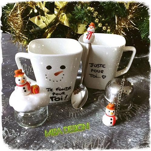 Set 'Tea time!' de Noël