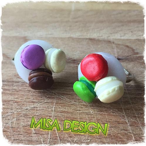 Bague Mini-Macarons