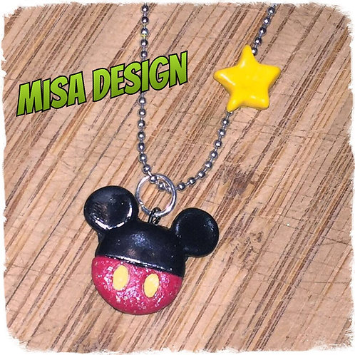 Collier M-Mouse