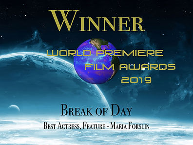 World Premiere Win Break of Day actress.