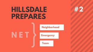 Hillsdale NET Emergency Preparedness, Part 2: Start Building Your Cache