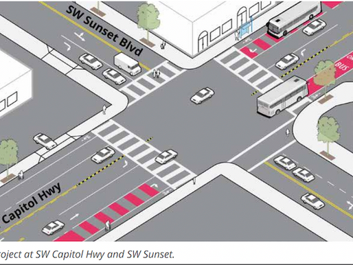 PBOT Proposal Calls for Bus-Only Lanes in Hillsdale Commercial District